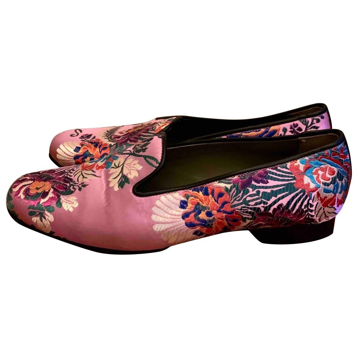 Penelope Chilvers - Mocassins   pour femme en toile - rose