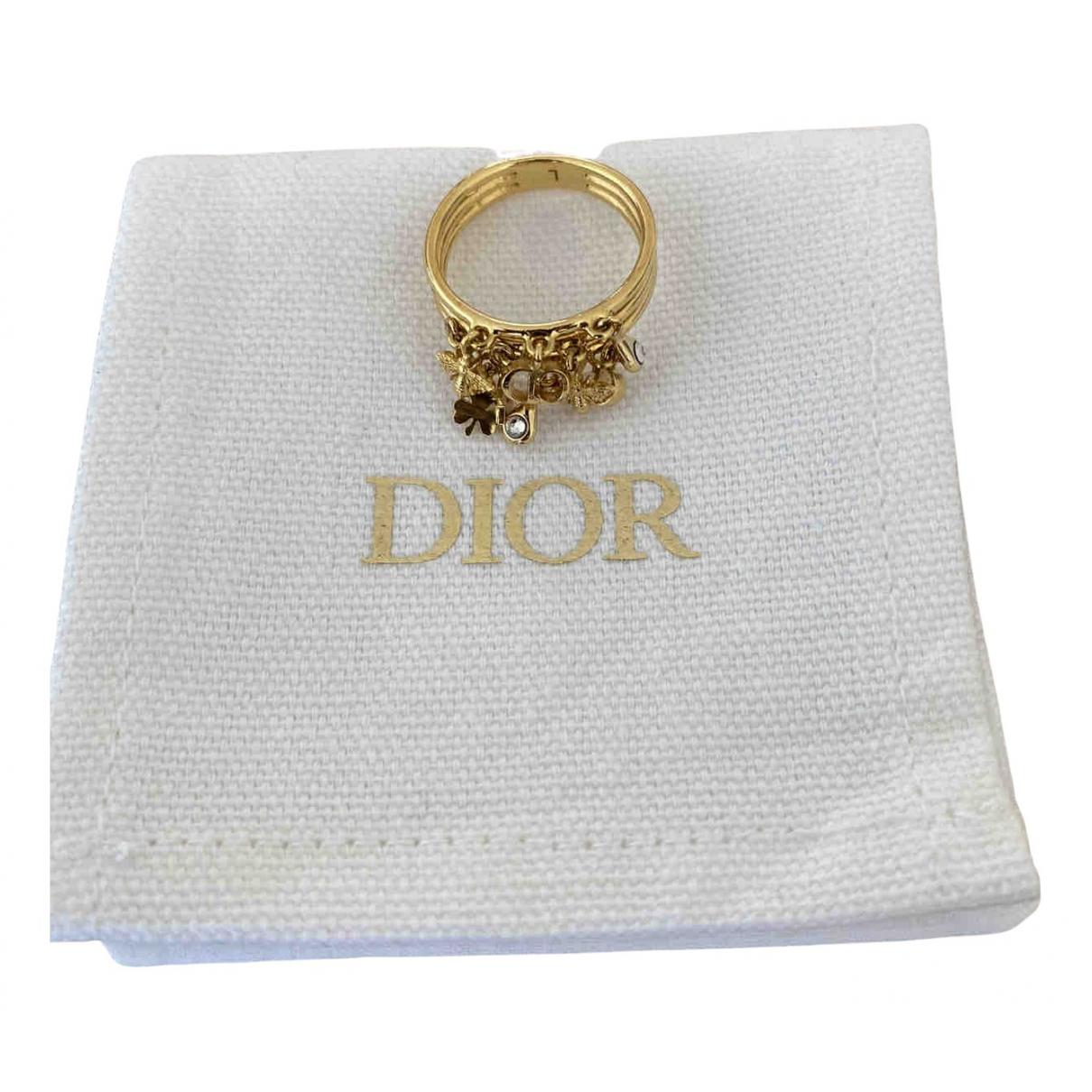 Christian Dior - Bague   pour femme en plaque or - dore