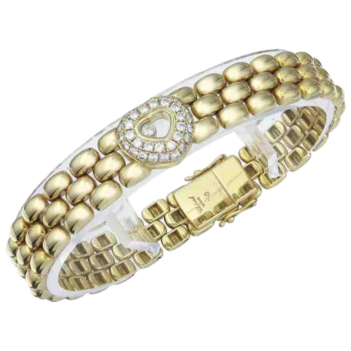 Pulsera Happy Diamonds de Oro amarillo Chopard