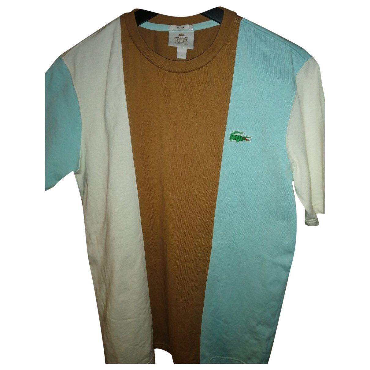 Lacoste X Golf Le Fleur \N T-Shirts in  Bunt Baumwolle
