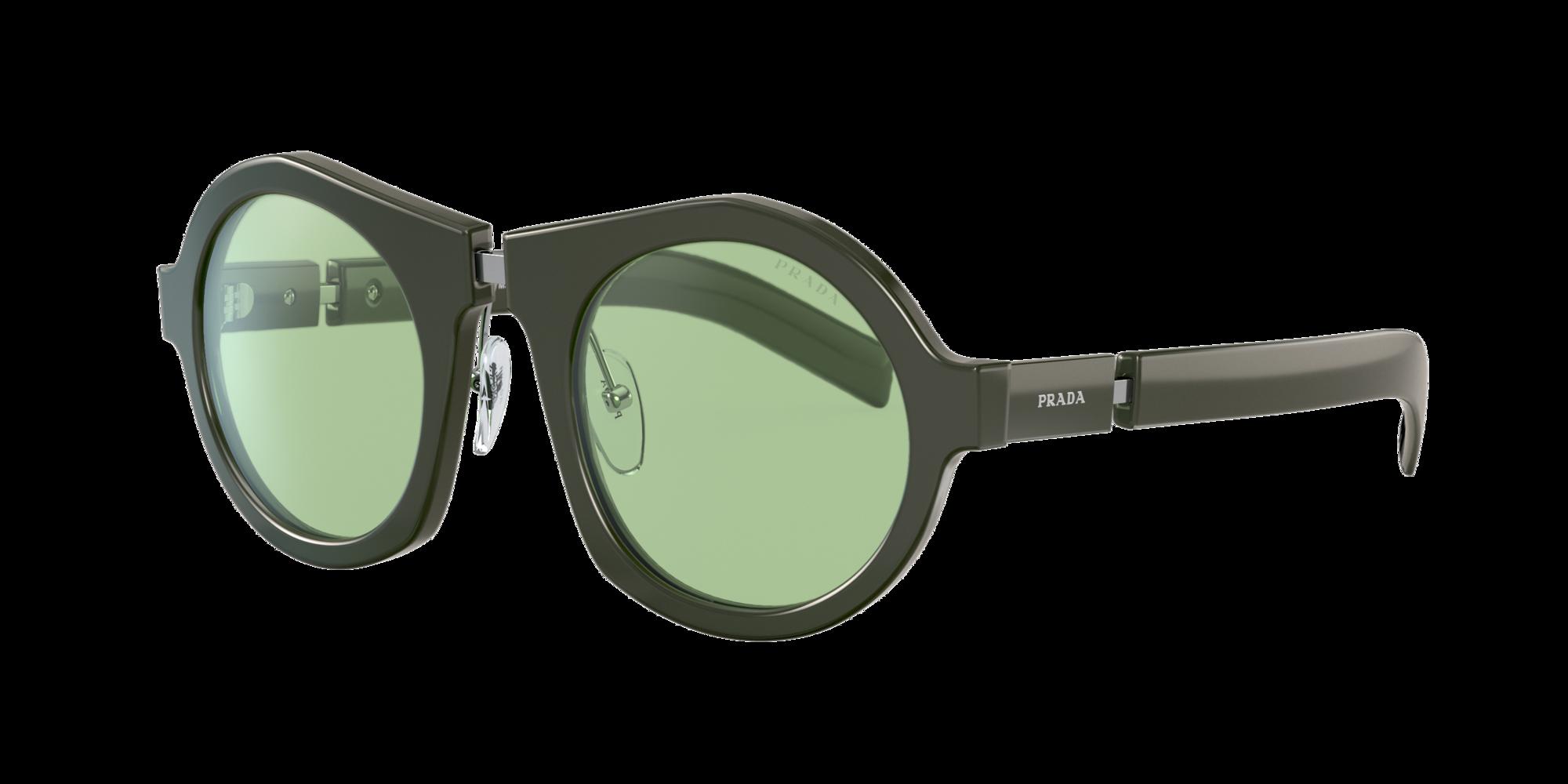 Prada Unisex  PR 10XS -  Frame color: Vert, Lens color: Vert