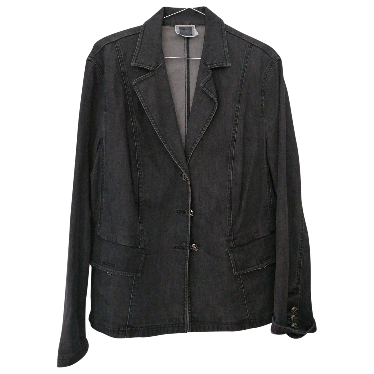 Non Signé / Unsigned \N Grey Cotton jacket for Women M International