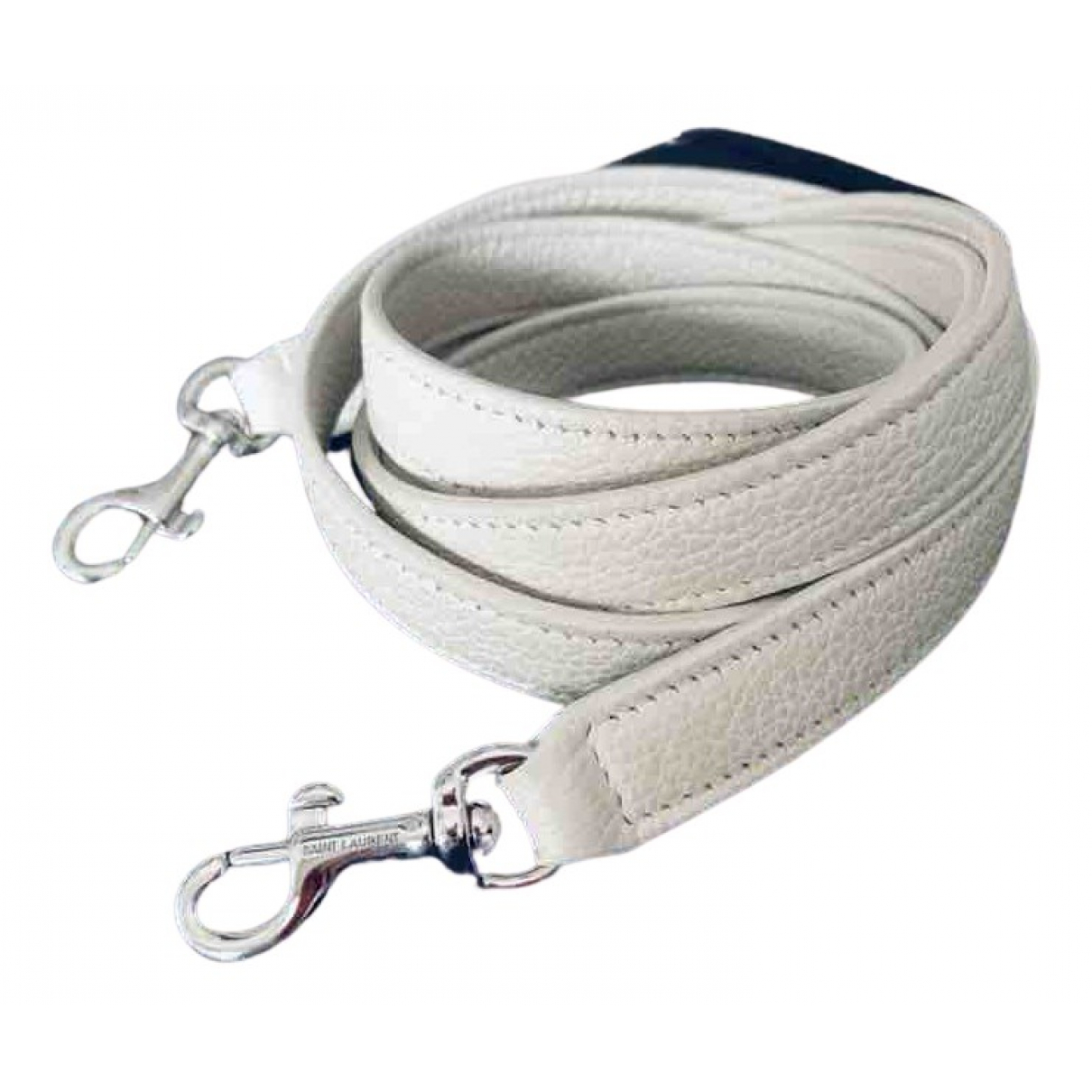 Saint Laurent N White Leather Purses, wallet & cases for Women N