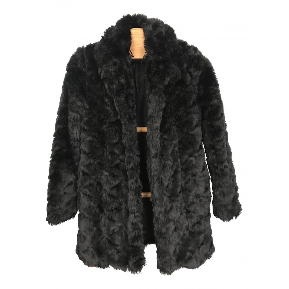 Mango - Manteau   pour femme - noir