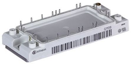 Infineon DDB6U134N16RRBOSA1, 3-phase Bridge Rectifier Module, 35A 1600V AG-ECONO2-7