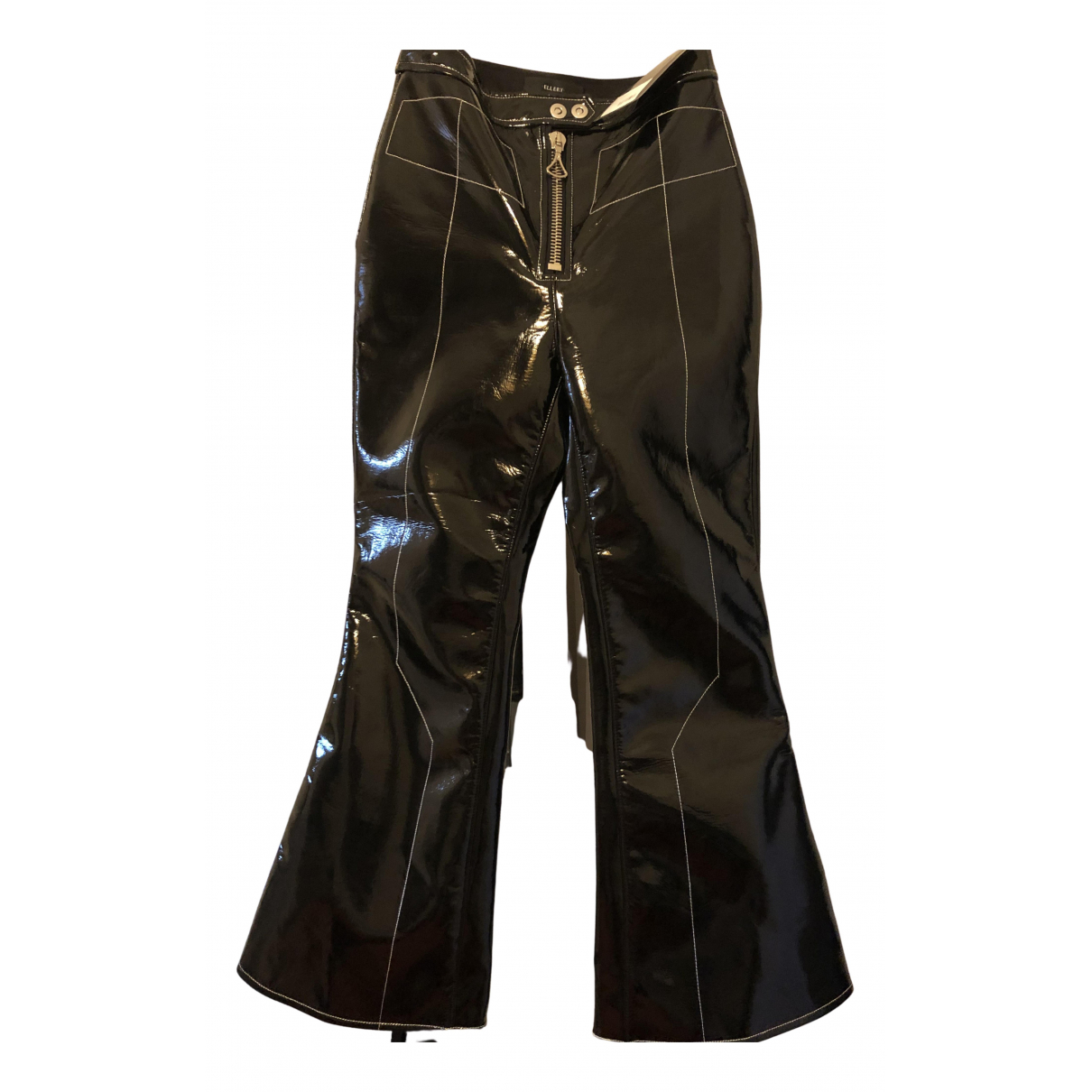 Ellery N Black Trousers for Women 6 UK