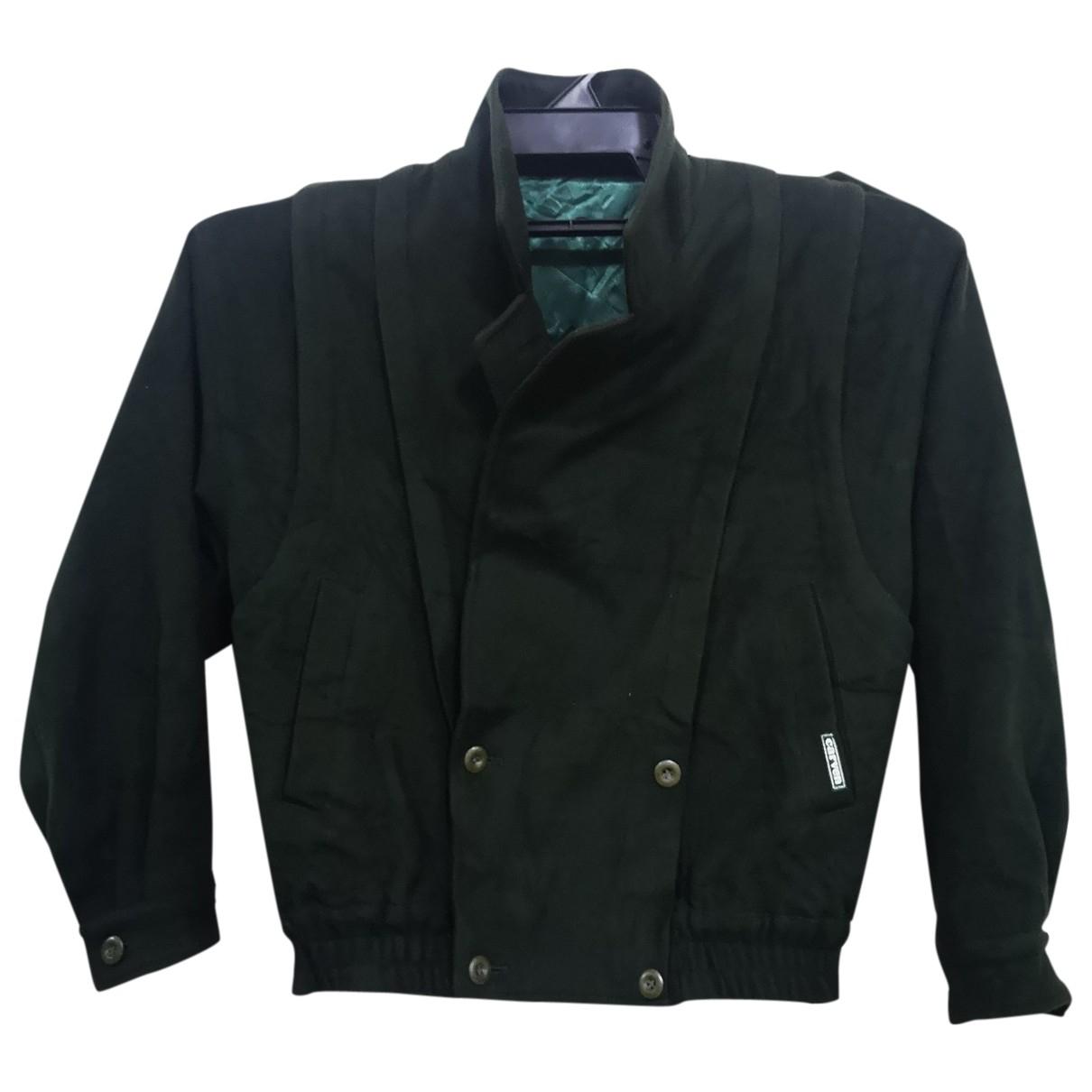Carven \N Jacke in  Gruen Wolle