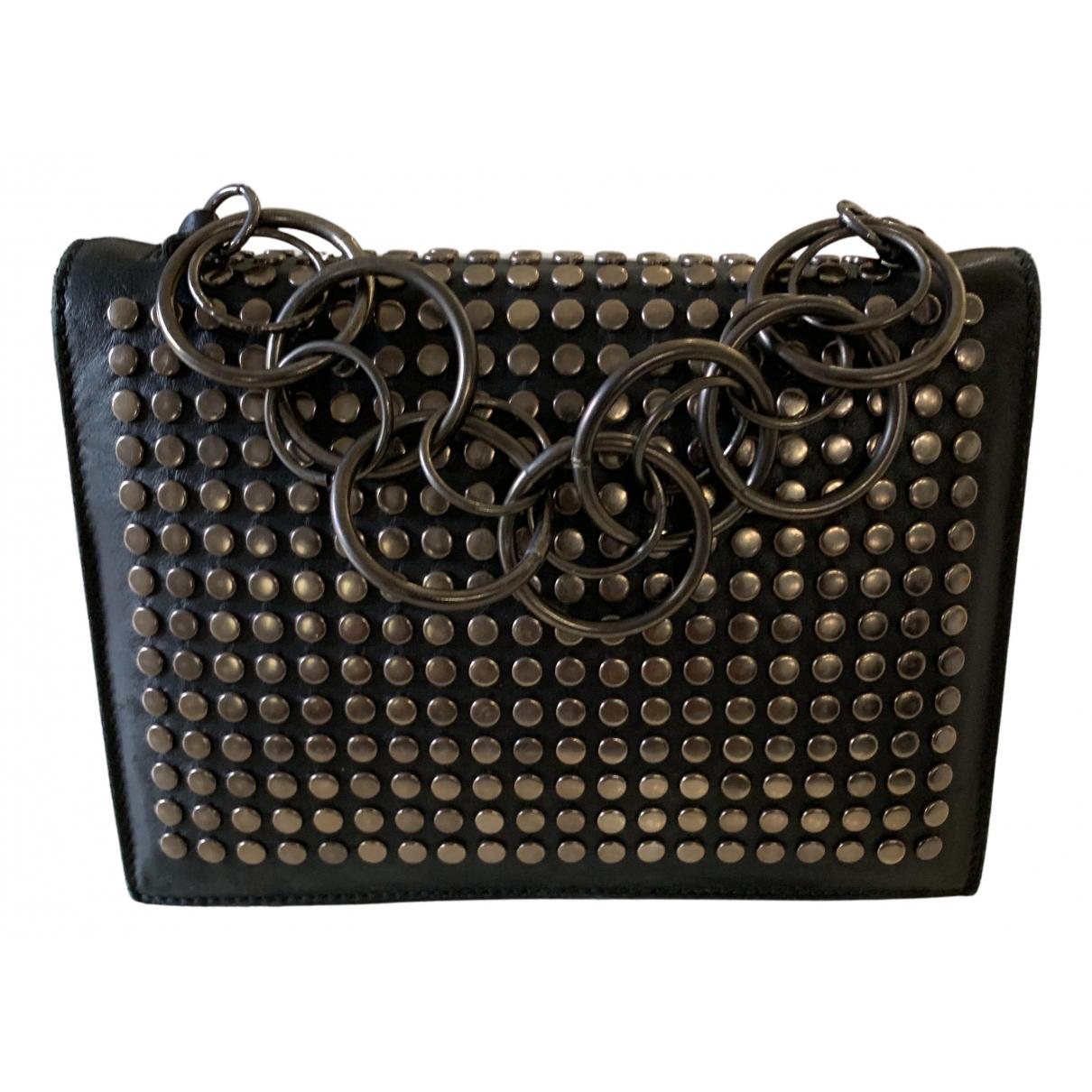 Roberto Cavalli N Black Leather handbag for Women N