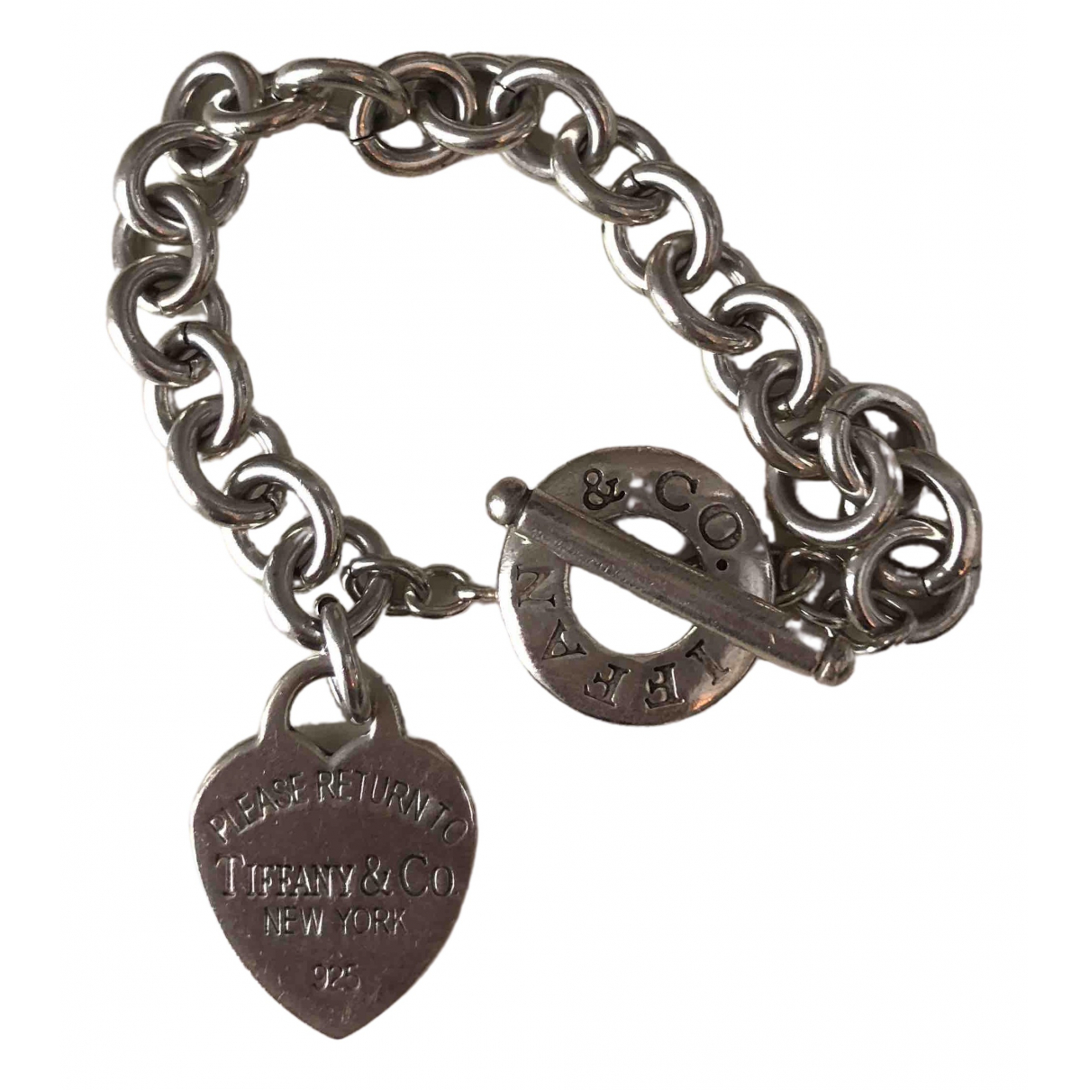 Tiffany & Co Return to Tiffany Metallic Silver bracelet for Women \N