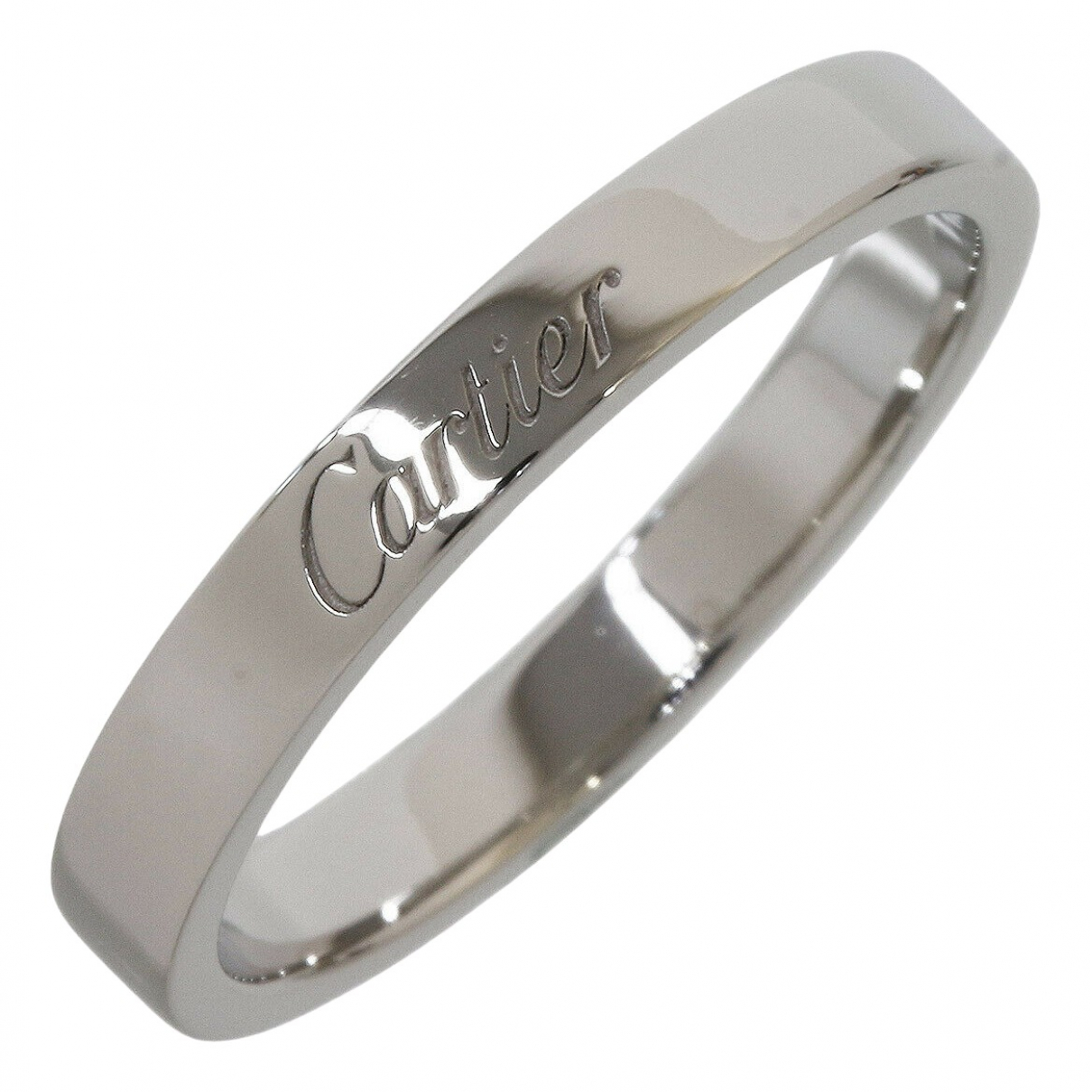 Cartier \N Platinum ring for Women 58 EU