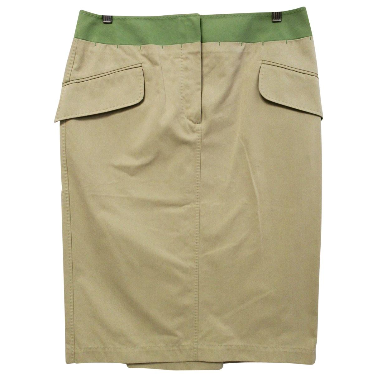 Brioni - Jupe   pour femme en coton - beige