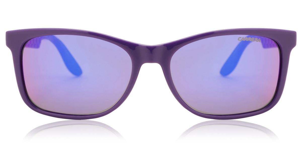 Carrera 5005 DEL/TE Mens Sunglasses Violet Size 56