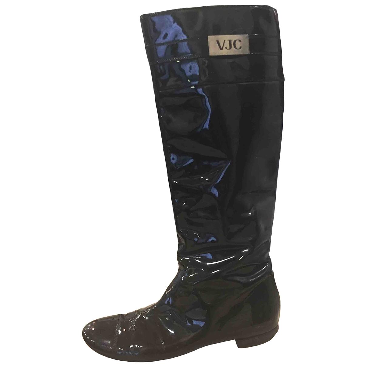 Botas de Charol Versace Jeans