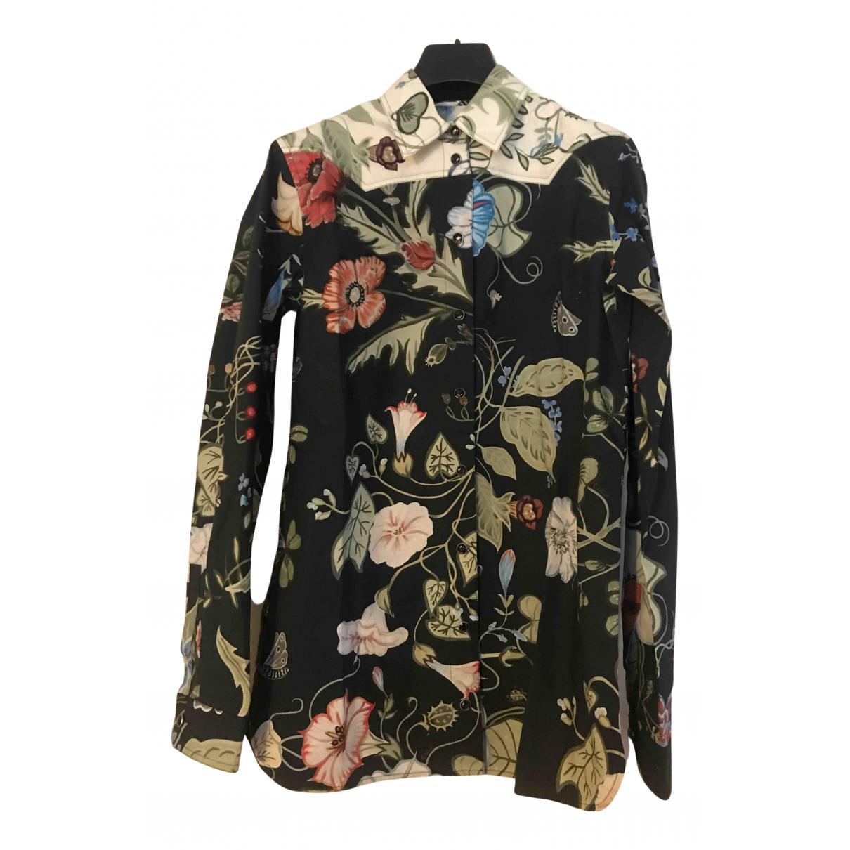 Gucci \N Multicolour Cotton  top for Women 40 IT