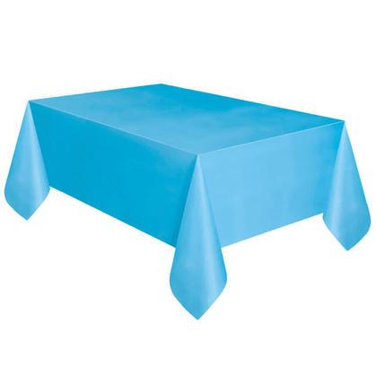 Bleu poudre Solide Rectangulaire en Plastique sur le Couvercle de la Table 54