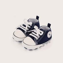 Segeltuch Schuhe mit Band vorn