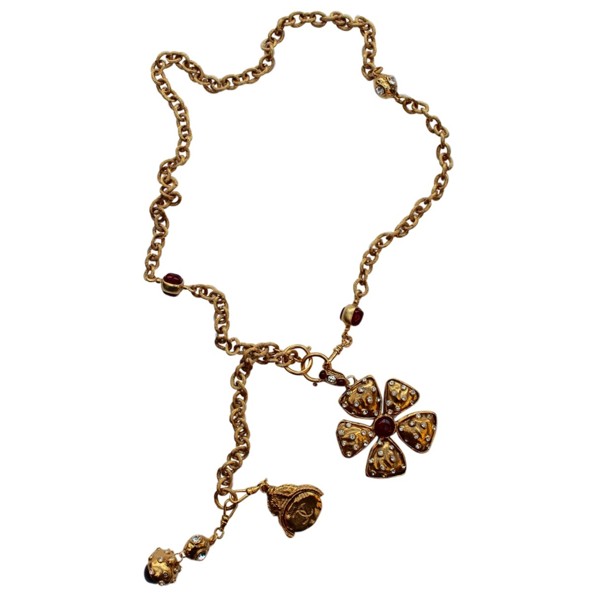 Chanel Baroque Gold Metal necklace for Women \N