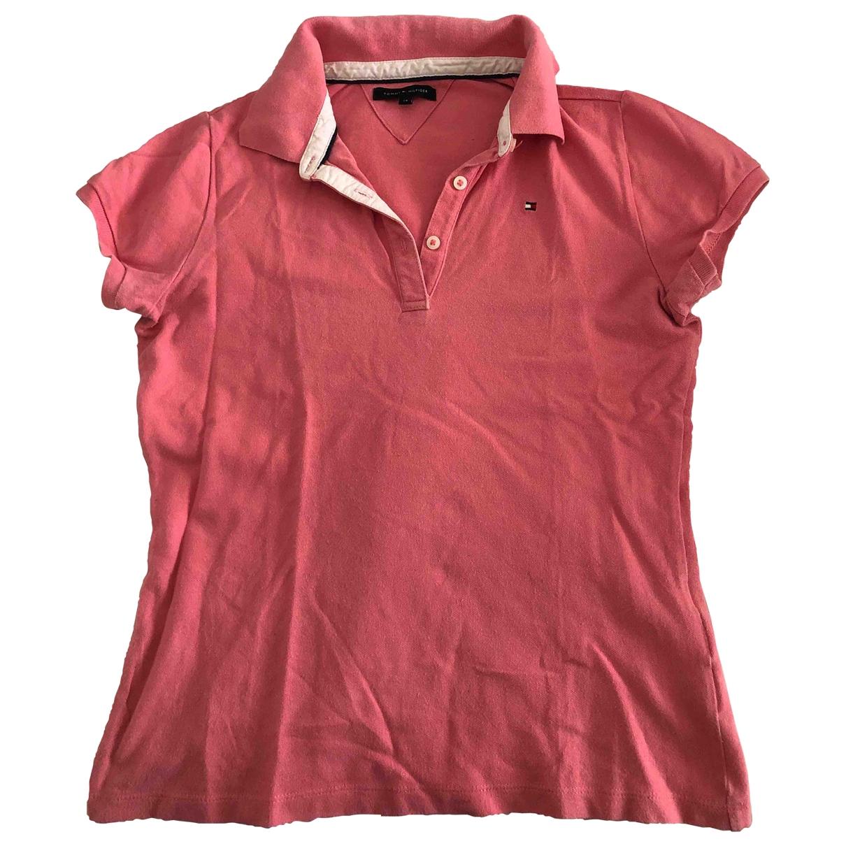 Tommy Hilfiger - Top   pour enfant en coton - rose