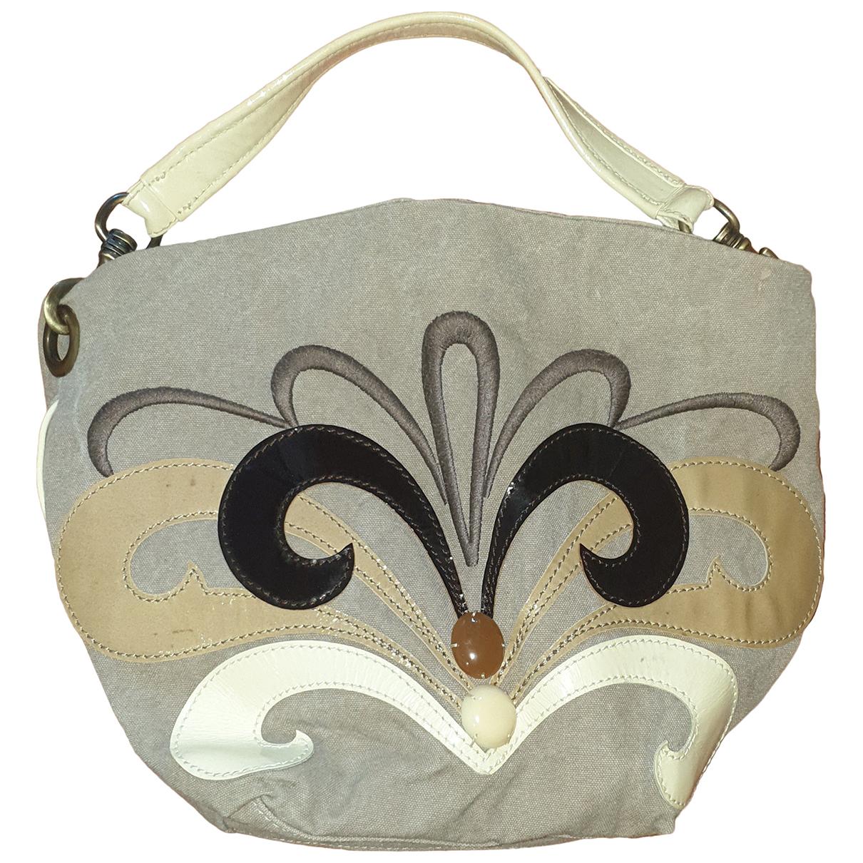 Maliparmi \N Handtasche in  Beige Leinen
