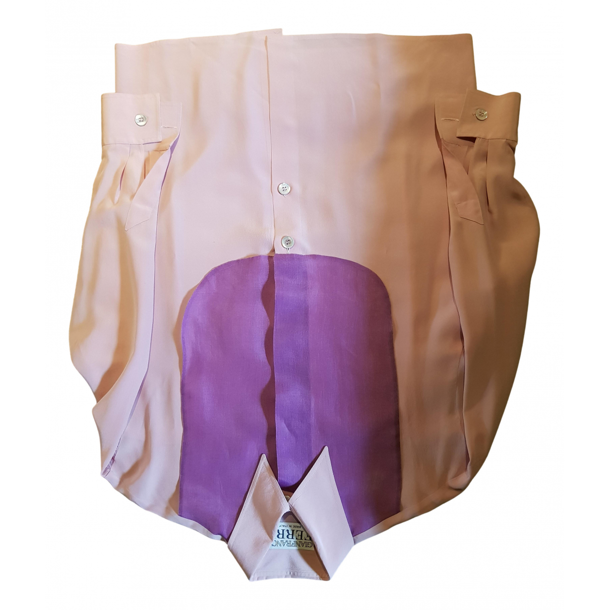 Gianfranco Ferré N Pink Silk  top for Women 38 FR