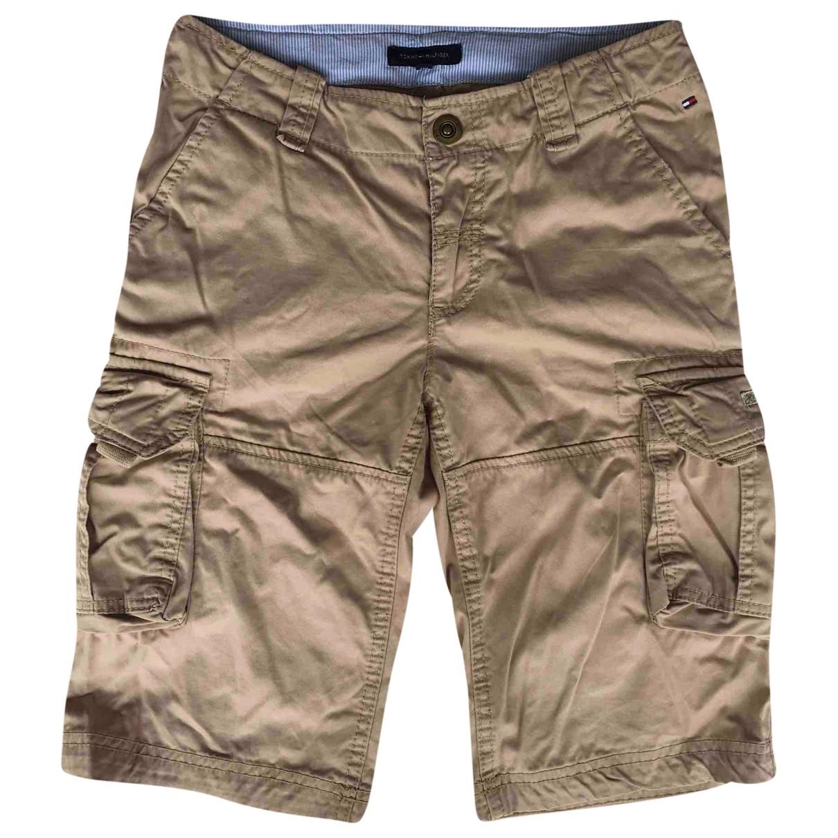 Tommy Hilfiger - Short   pour enfant en coton - beige