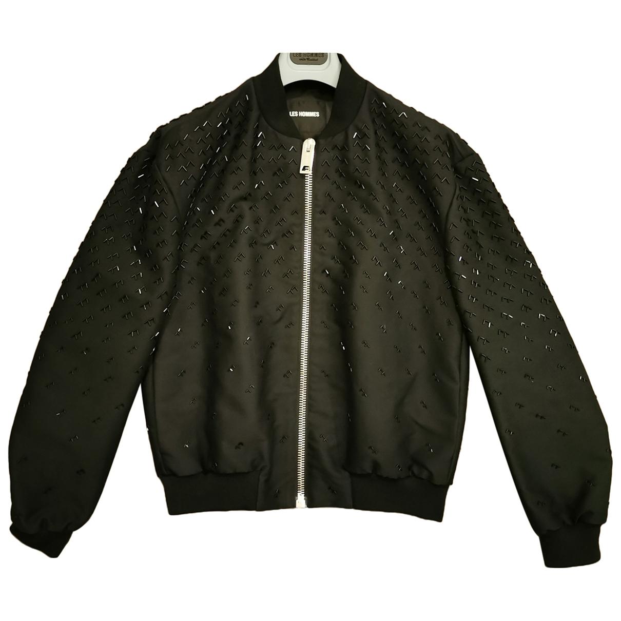 Les Hommes \N Black Cotton jacket  for Men M International
