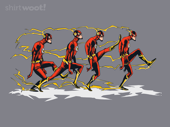 The Speedster Of Silly Walks T Shirt