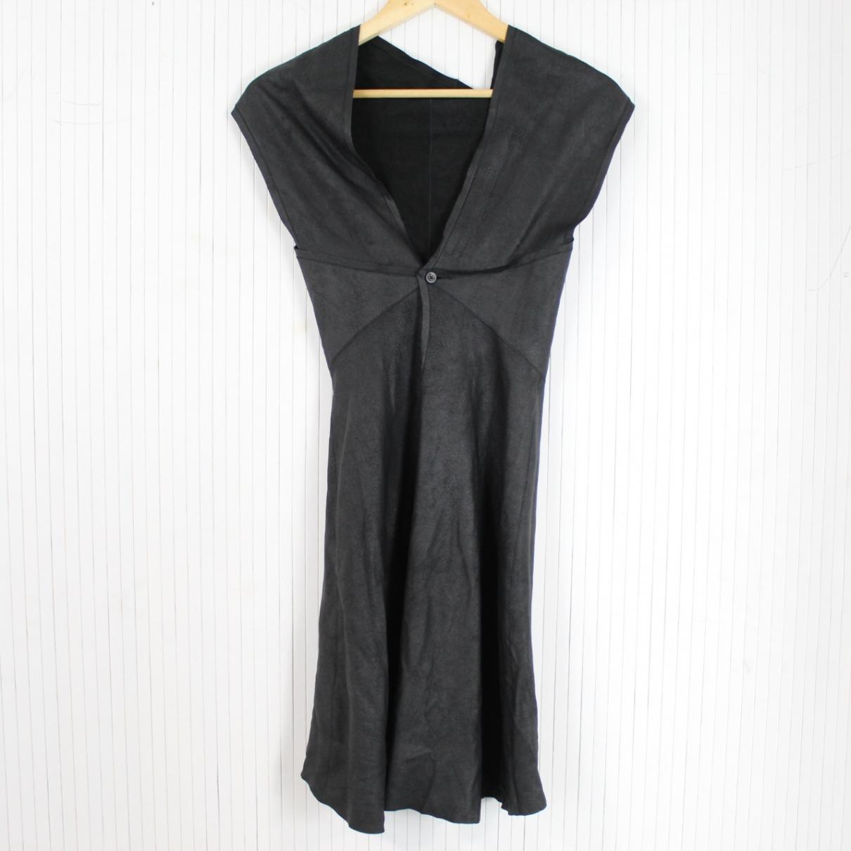 Rick Owens \N Kleid in  Schwarz Leder