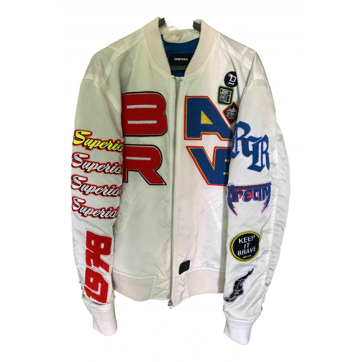 Diesel \N White jacket  for Men L International