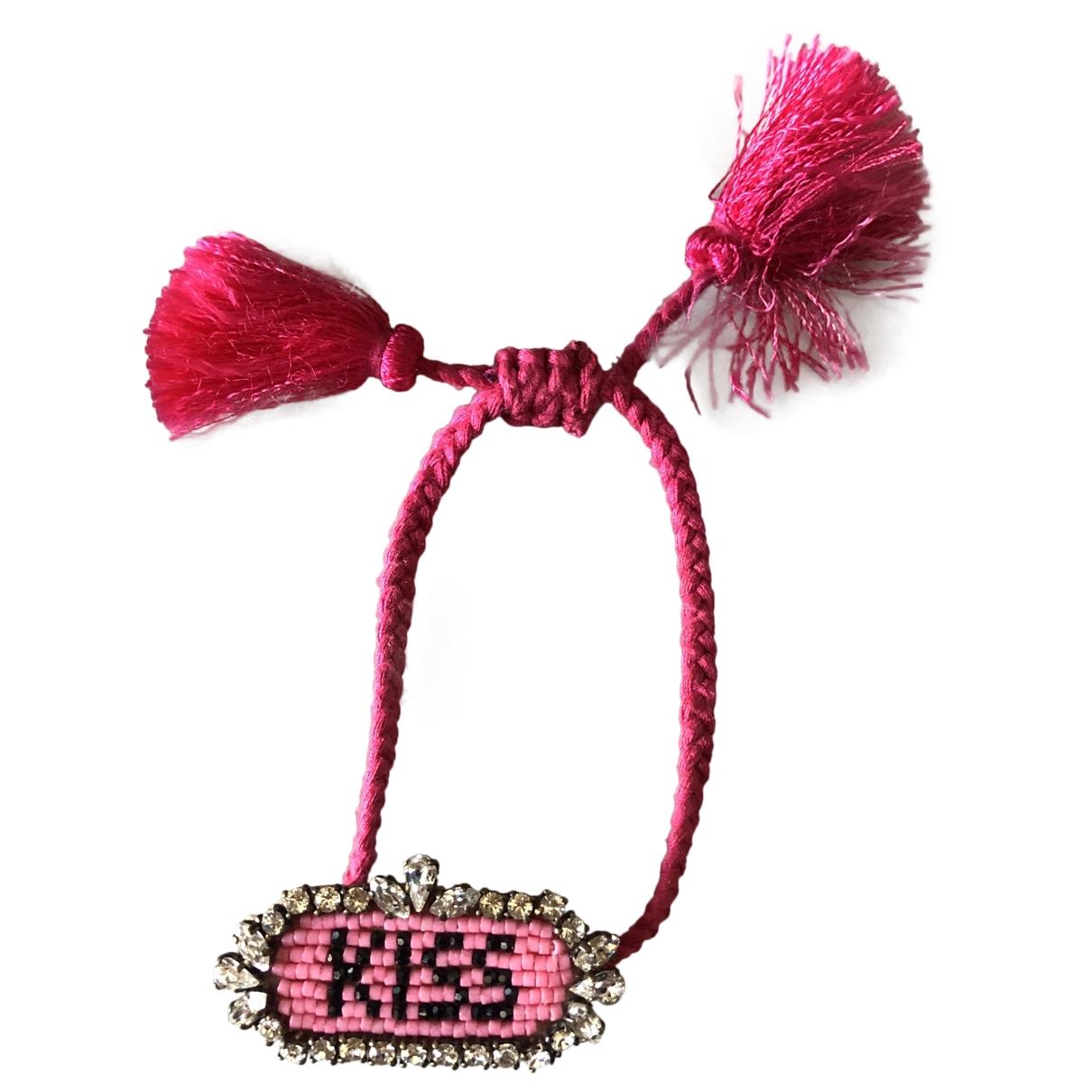 Shourouk \N Armband in  Rosa Metall