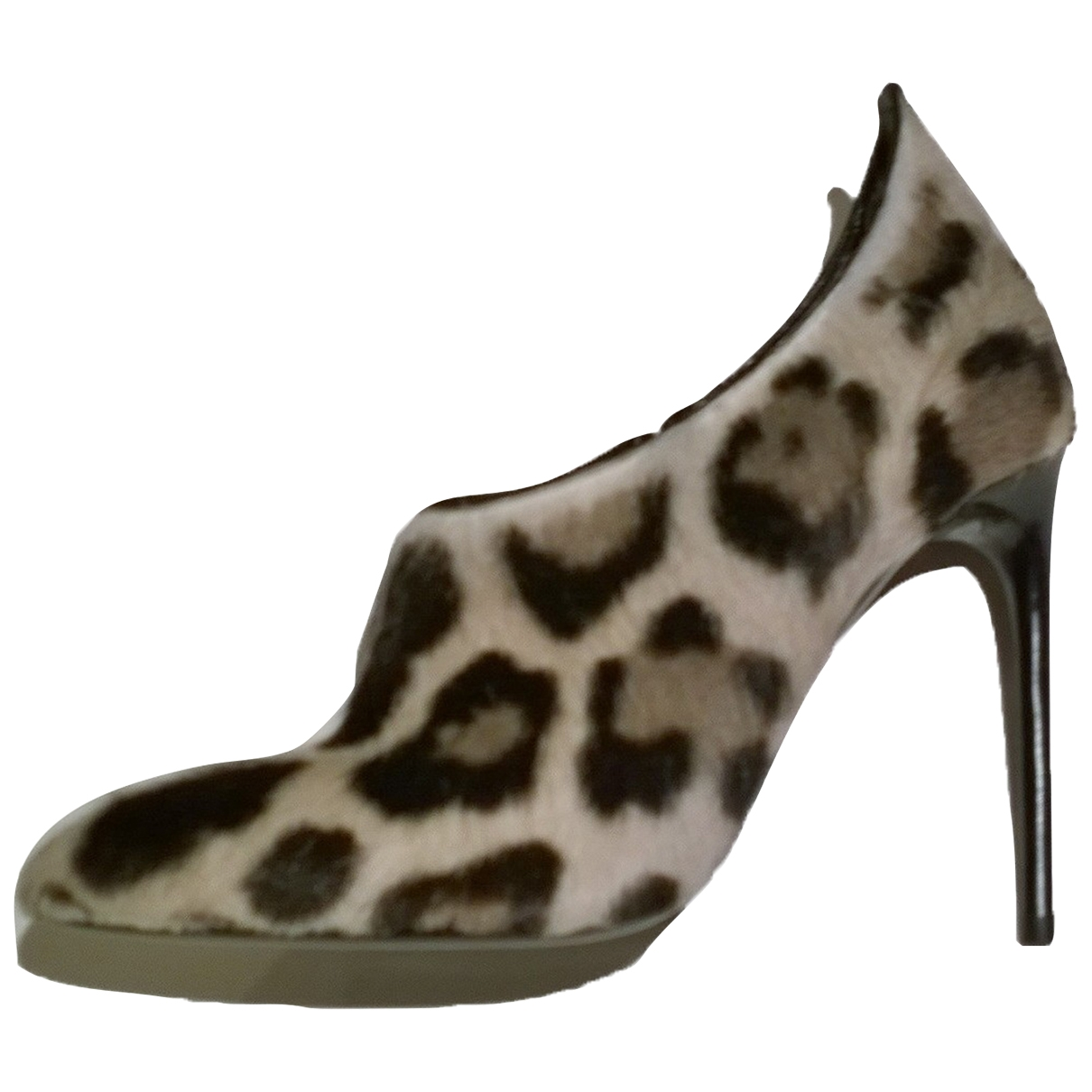 Tom Ford \N Grey Pony-style calfskin Ankle boots for Women 39 IT