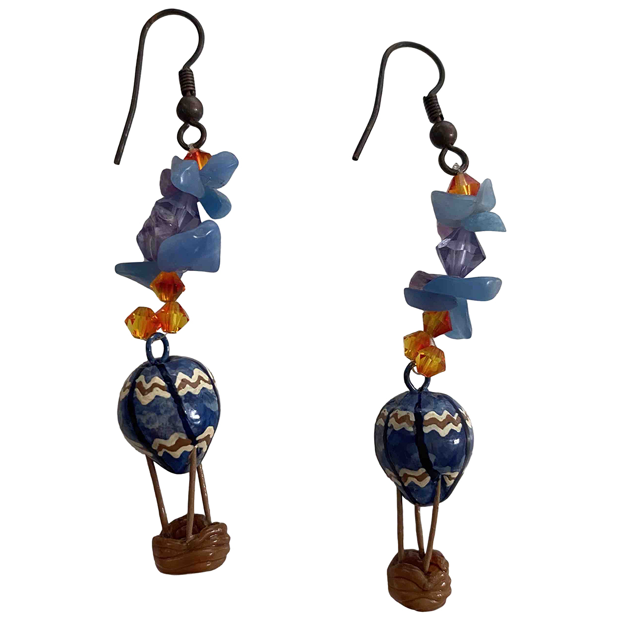 Swarovski - Pendentif   pour femme en cristal - bleu