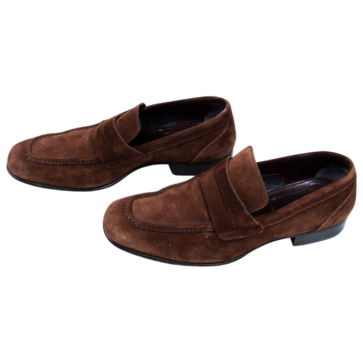 Tom Ford \N Brown Suede Flats for Men 42 EU