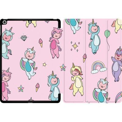 Apple iPad 9.7 (2017) Tablet Smart Case - Piggy Unicorns von Chan-chan