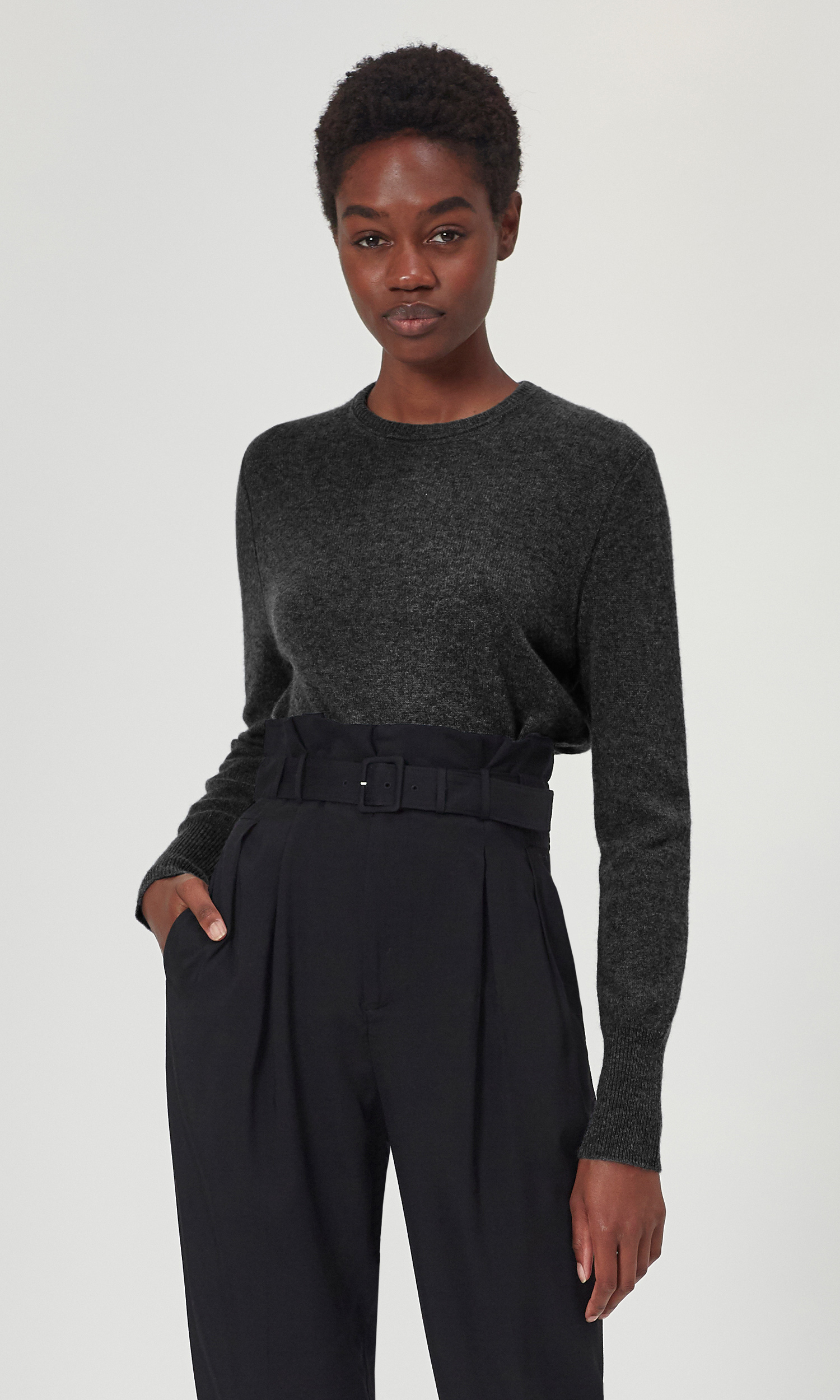 Sanni Cashmere Crew Sweater by Equipment