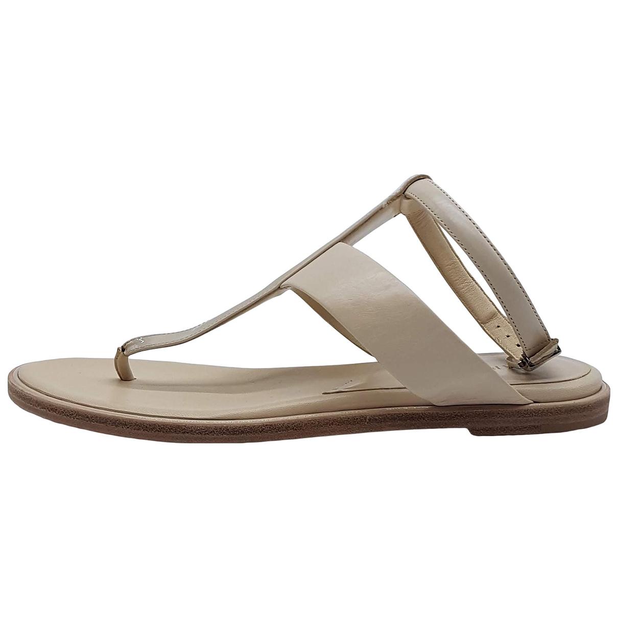 La Perla \N Sandalen in  Beige Leder