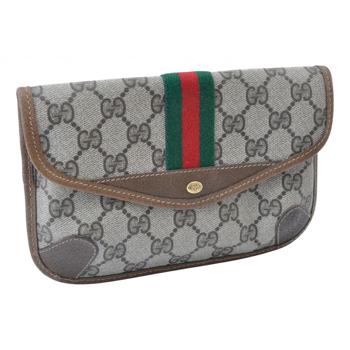 Gucci - Pochette Ophidia pour femme en toile - marron