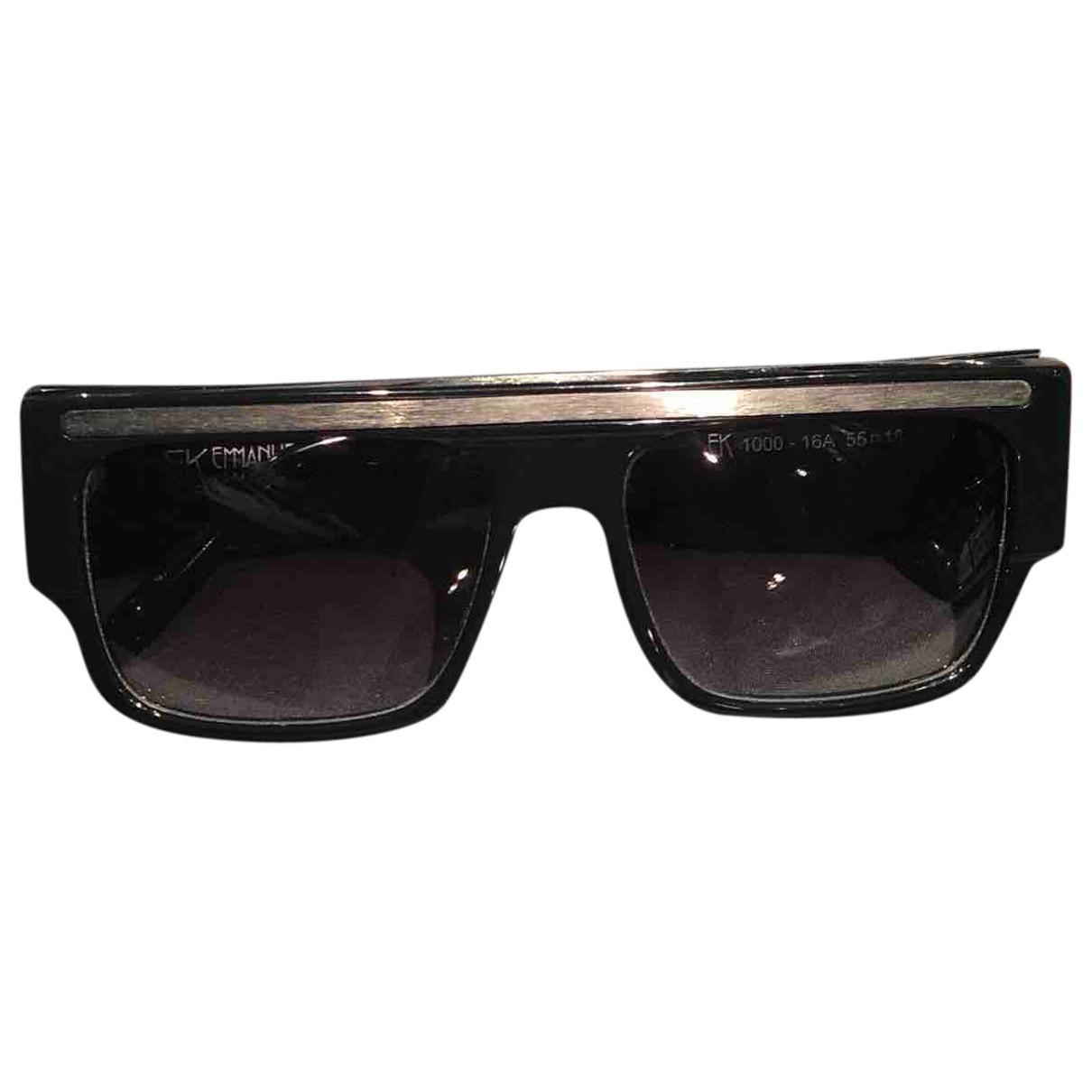 Emmanuelle Khanh \N Sonnenbrillen in  Schwarz Kunststoff