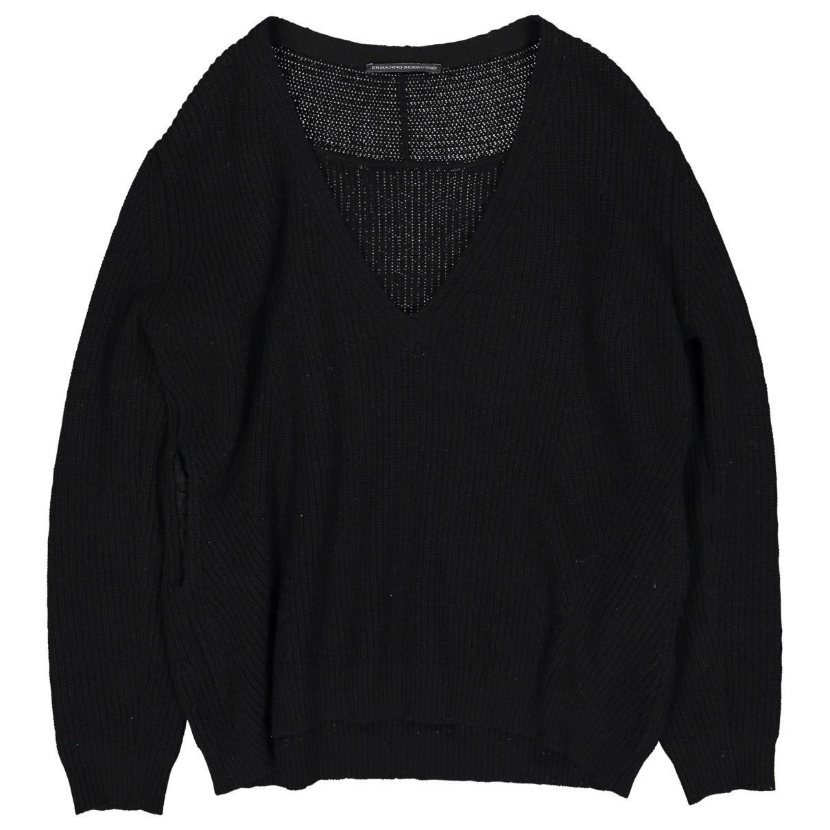 Ermanno Scervino \N Black Wool Knitwear for Women 40 IT