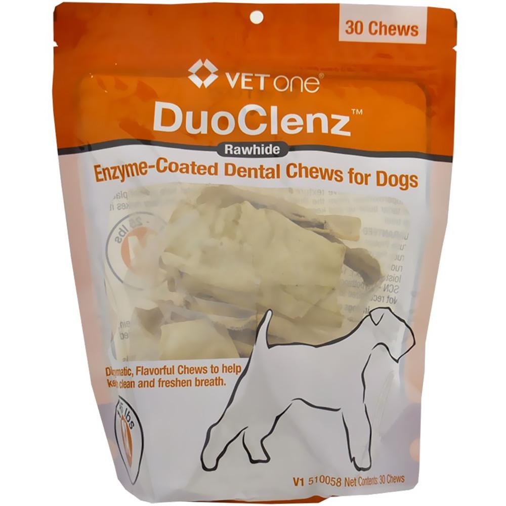 VetOne DuoClenz Enzyme-Coated Dental Chews Medium (30 count)