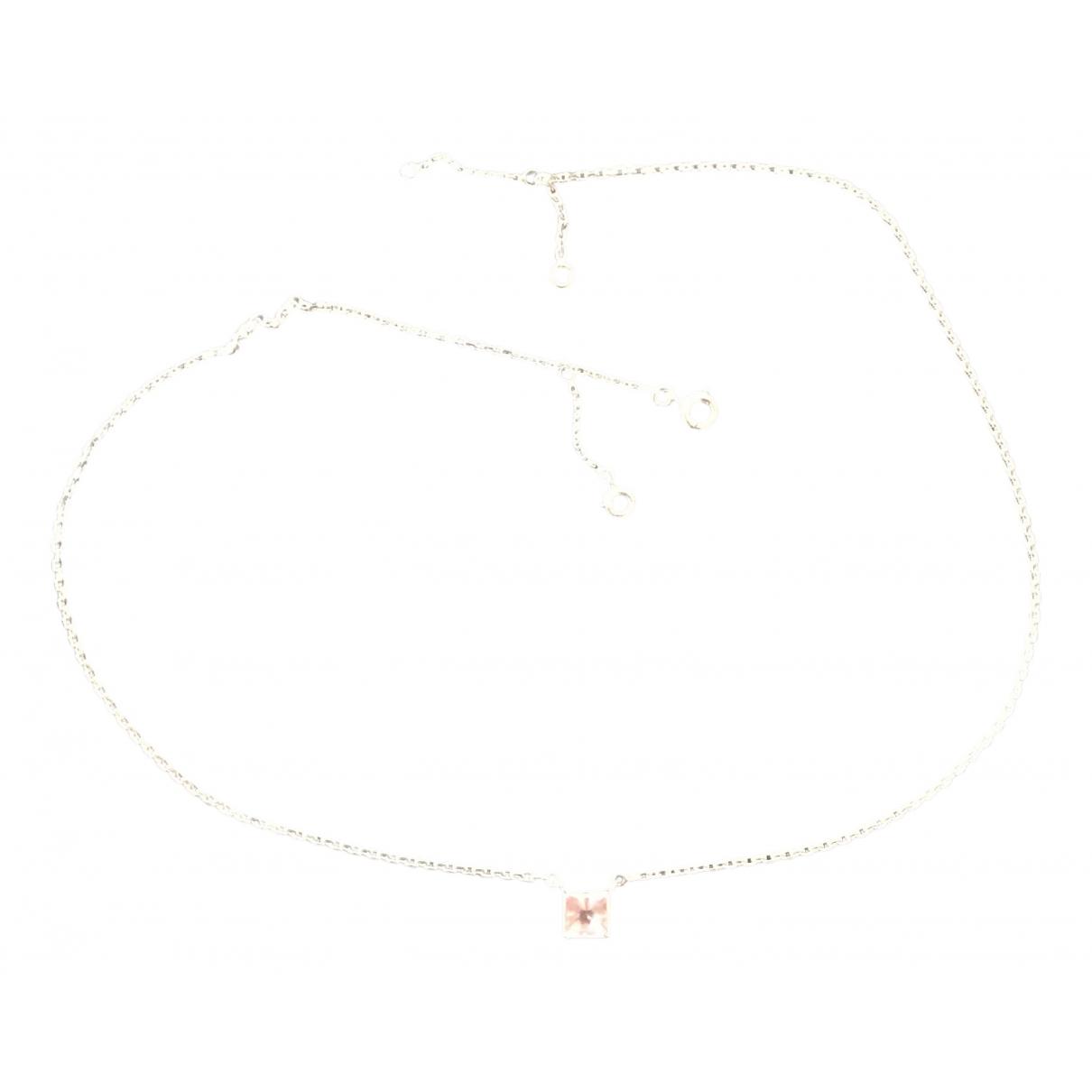 Cartier - Collier   pour femme en or blanc - rose