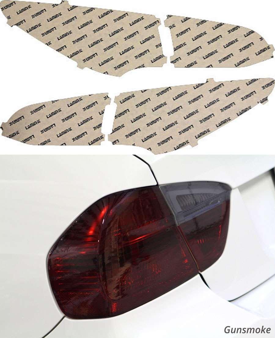 Hyundai Santa Fe Sport 13-16 Gunsmoke Tail Light Covers Lamin-X HY226G