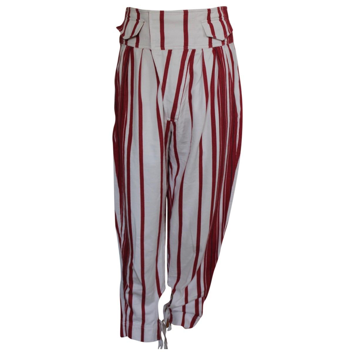 Isabel Marant - Pantalon   pour femme en coton - ecru