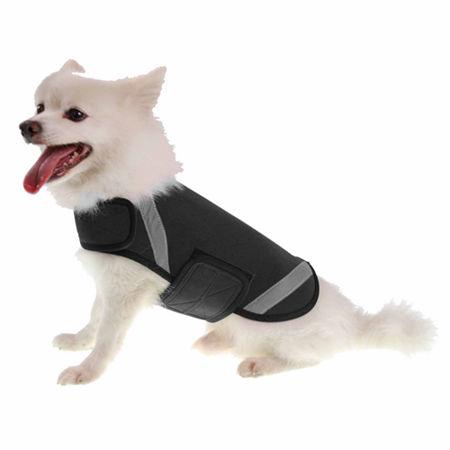 The Pet Life Extreme Neoprene Multi-Purpose Protective Shell Dog Coat, One Size , Black