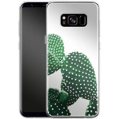 Samsung Galaxy S8 Silikon Handyhuelle - Cacti von Mukta Lata Barua