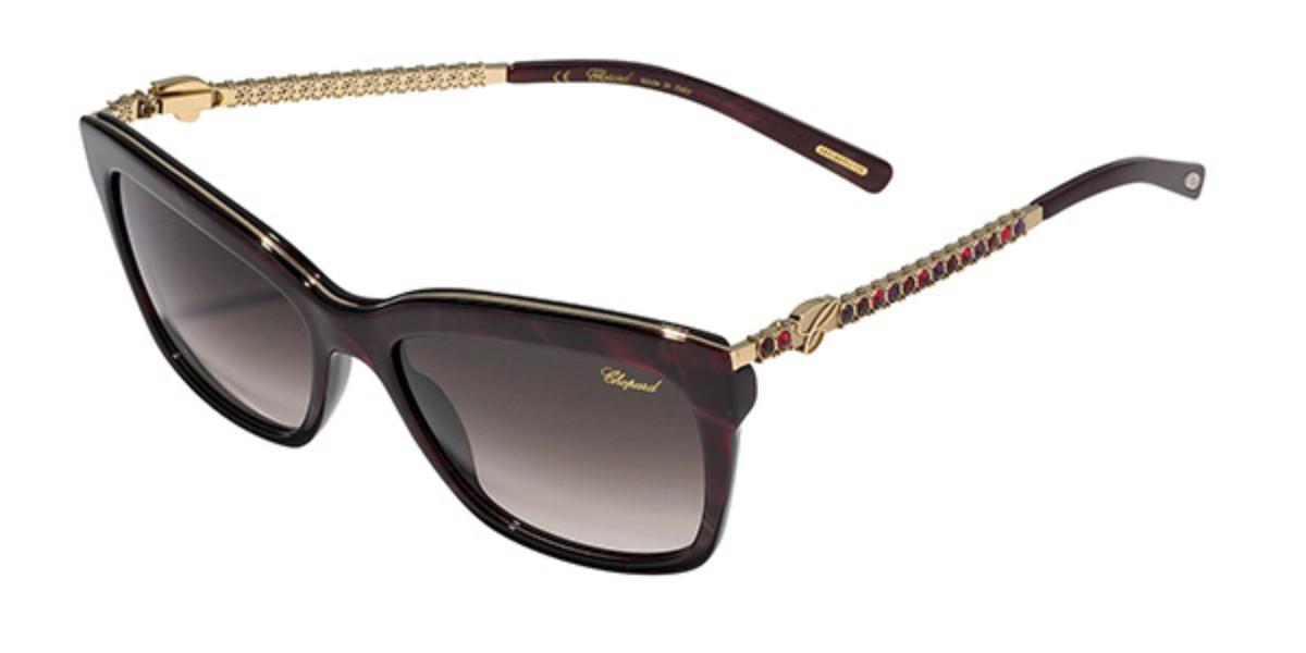 Chopard SCH212S 09ZB Women's Sunglasses Tortoise Size 55