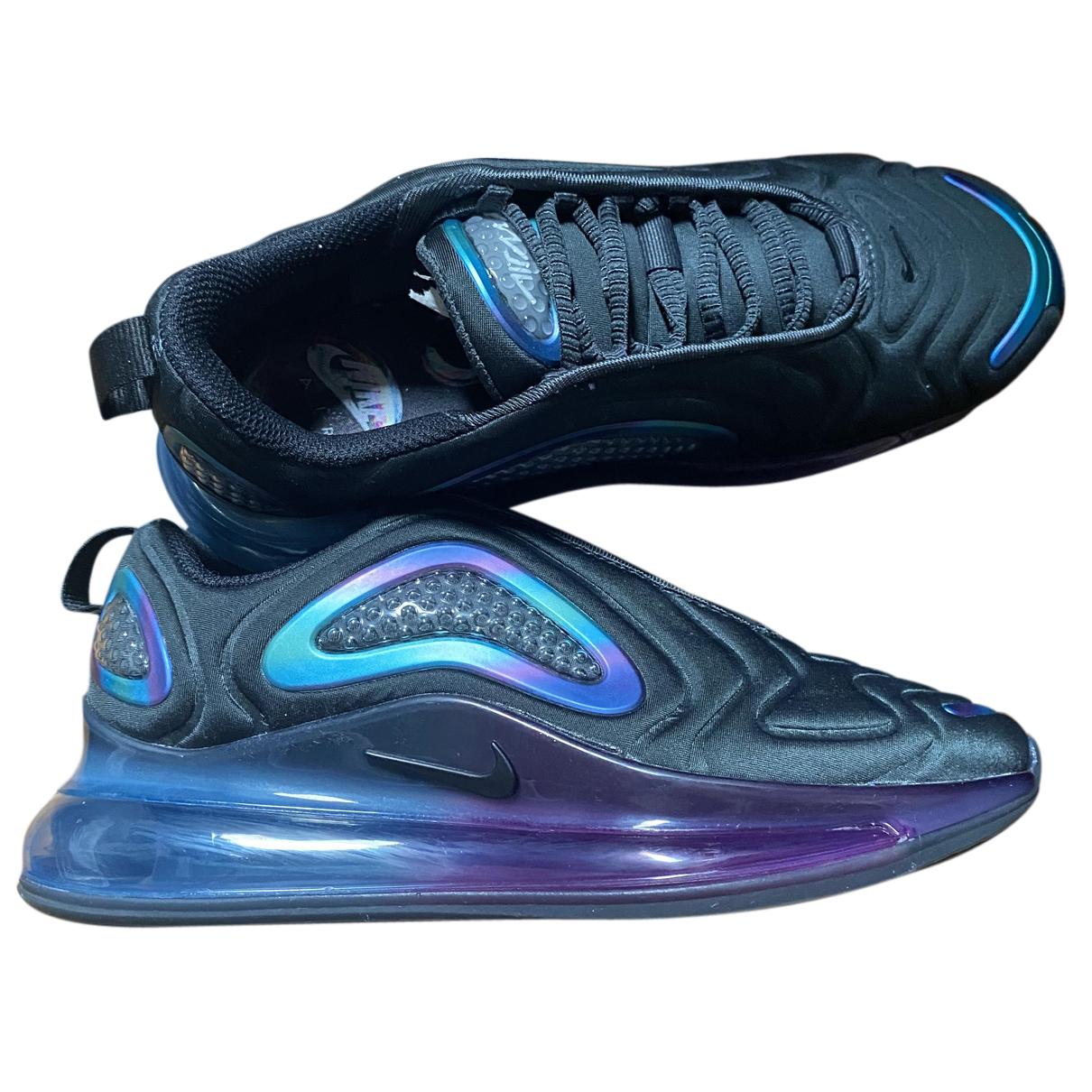 Nike Air Max 720 Sneakers in  Schwarz Leinen