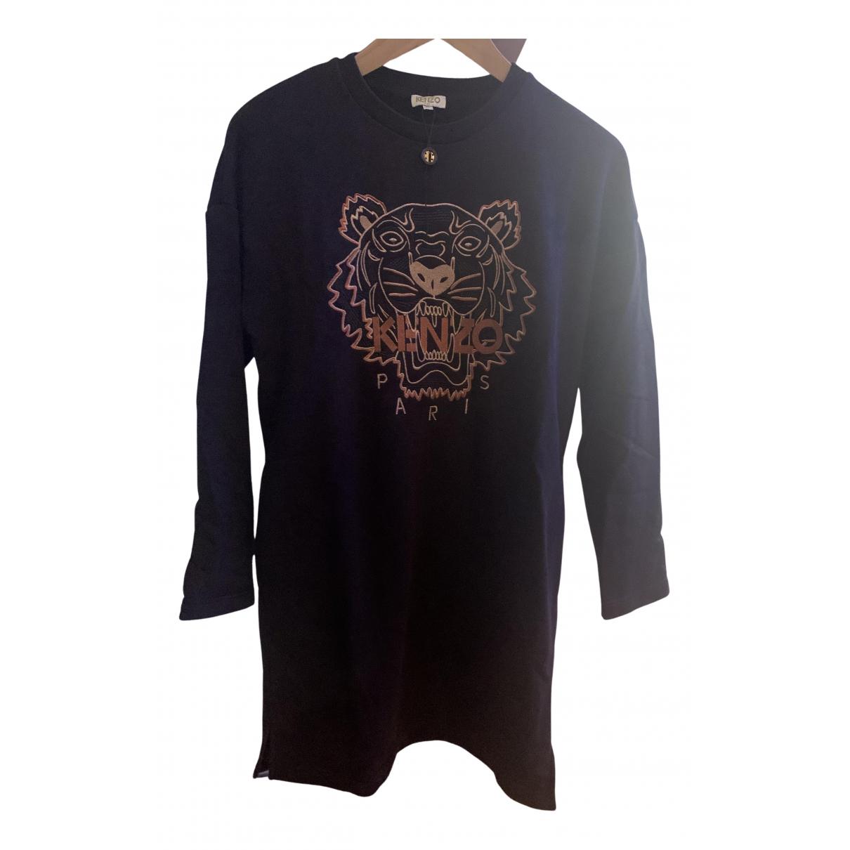 Kenzo - Robe    pour enfant en coton - noir