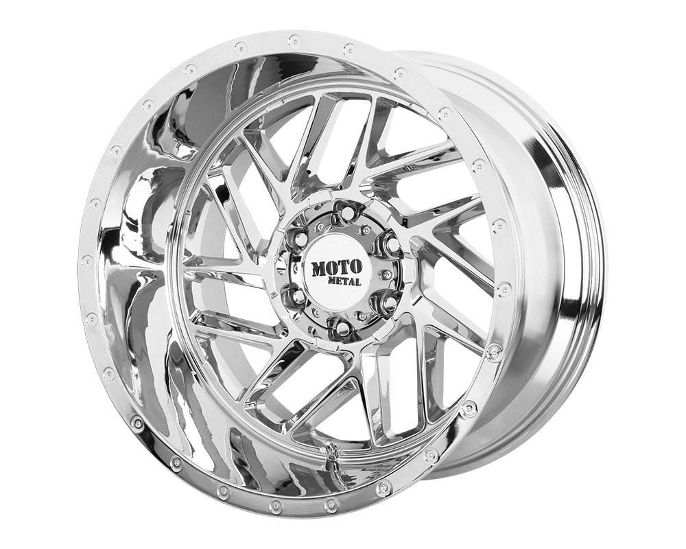 Moto Metal MO98522068218N MO985 Breakout Wheel 22x10 6x6x139.7 -18mm Chrome