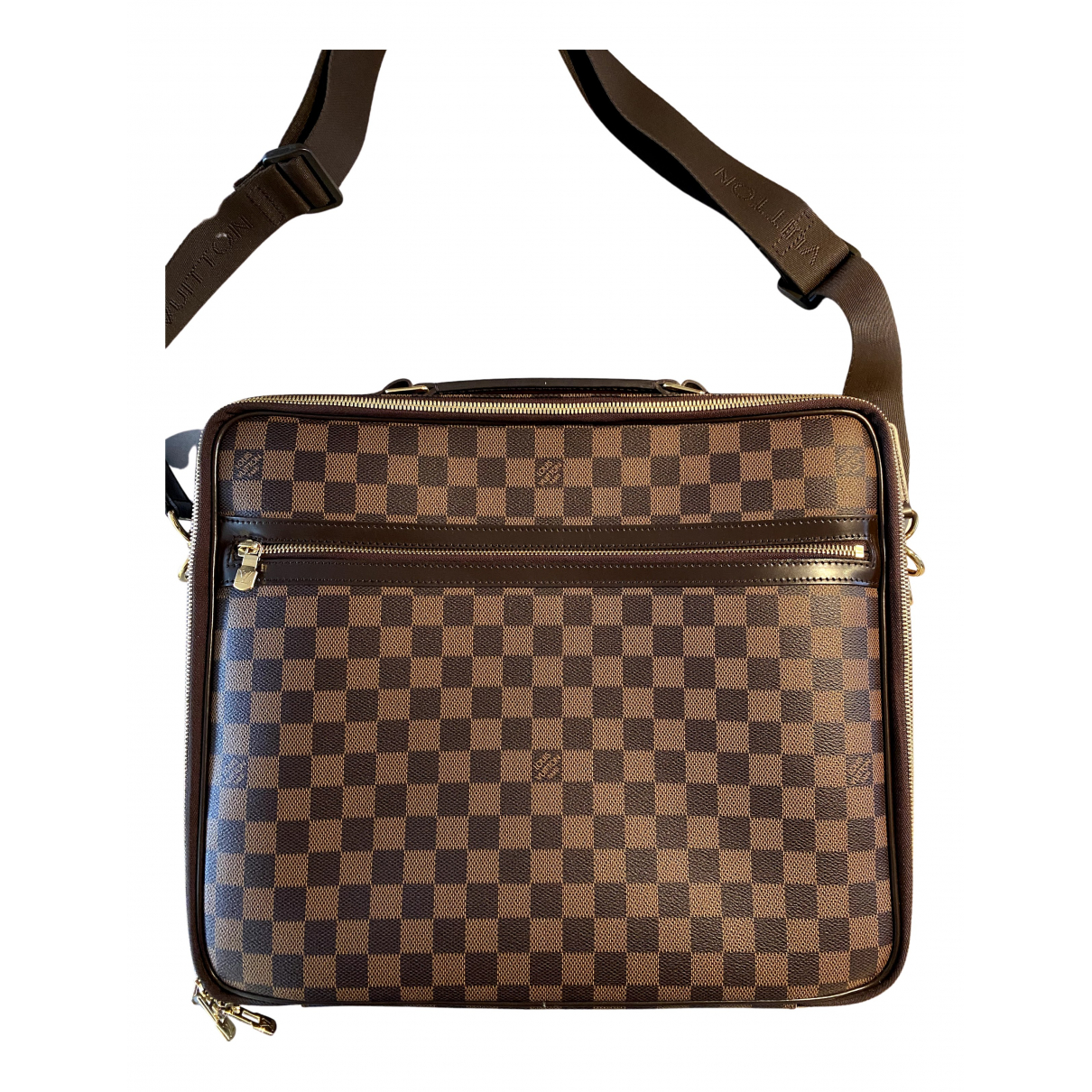 Louis Vuitton - Sac Sabana pour homme en toile - marron